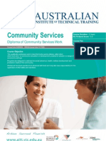 Diploma of Community Services Work