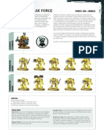m1521013a New! Space Marines Datasheet - Vengeance Task Force