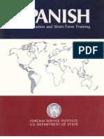 Fsi-SpanishFamiliarizationAndShort-termTraining