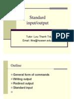 C2 - Standard Input-output