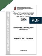 guias metodologicas > Banco de Proyectos