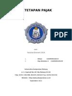 makalah penetapan pajak