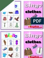 bingo - roba amb anglès