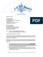 Samoa Letter to Planning and Housing