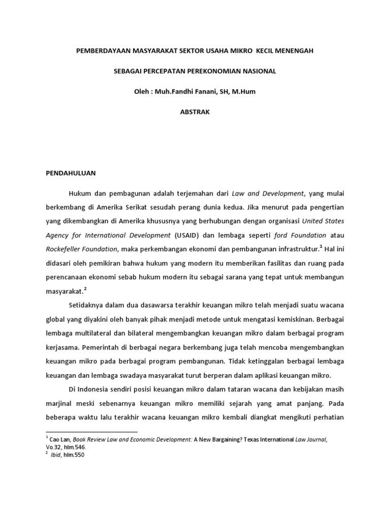 Contoh Abstrak Tesis Ukm Contoh Soal Dan Contoh Pidato Lengkap