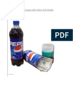 Swot Analysis of Pepsi With Other Soft Drinks