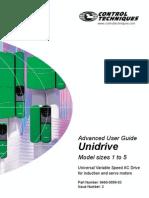 manual avanzado Unidrive Clasico