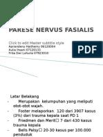 Referat - Parese Nervus Fasialis