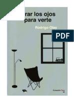 Rodrigo Olay. Cerrar Los Ojos Para Verte