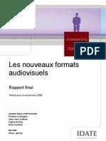 70134 Les Nouveaux Formats Audiovisuels-mai 2008