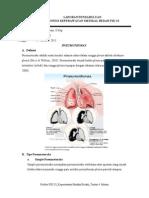 LAPORAN PENDAHULUAN Pneumotoraks
