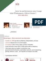 Cedexis - Conf ParisWeb 2011