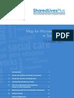 Map for Micro Enterprises in Social Care