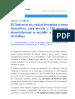 19-10-11 EMPLEO_Cursos Para Mujeres Desempleadas[1]