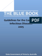 Blue Book - Guidelines for the Control of Infectious Disease