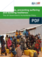 The UK Government's Humanitarian Policy - September 2011 - Final