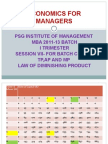 Economics For Managers - Session 07