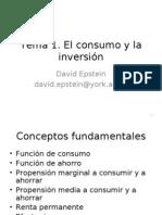 El Consumo y La Inversi%f3n