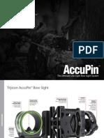 Trijicon AccuPin Brochure 2011