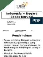Negara Bebas Korupsi - Tatit Kurniasih