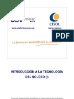 1. Introducción a la tecnología de soldeo (I)