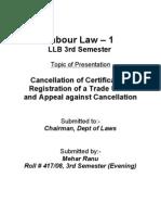 Project Labour Law-3
