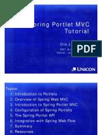 Spring Portlet Mvc Tutorial v1