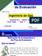 Plan de Evaluacion - Ingenieria en Gas