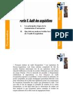 Audit Des Acquisition