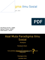 Paradigma Ilmu Sosial