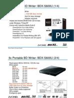 Data Sheet BDX-S600U