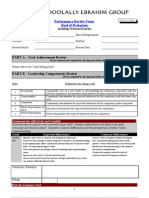 Performance Review Form - End of Probation (GS)