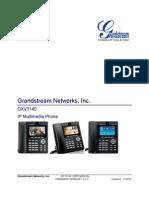 Gxv3140 User Manual English
