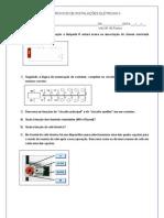 Exercicios de Instalacoes Eletricas II