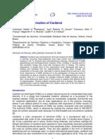 Thermal Oligomerization of Cardanol