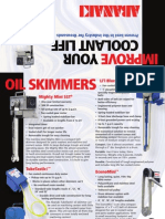 Coolant Skimmers & Accessories, Tramp Oil Skimmers | Abanaki Corporation