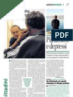 Più ansiosi e depressi. Il nuovo progetto regionale di tutela della salute mentale
