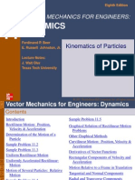 Ch11-Kinematics of Particles