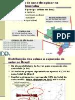 A Colheita Mecanizada de Cana No Brasil