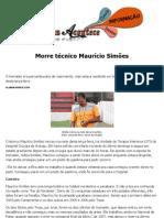 Morre técnico Maurício Simões