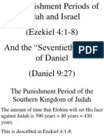 Cautividad de Israel y Las 70 Semanas de Daniel