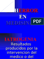 FLUJOGRAMA DEL ERROR Y NEGLIGENCIA