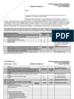Ohio Taxability Matrix 2011 revised (Oct. 17, 2011)