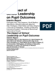 The Impact of School Leadership on Pupil Outcomes