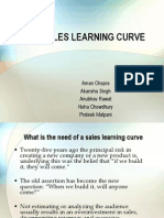 The Sales Learning Curve
