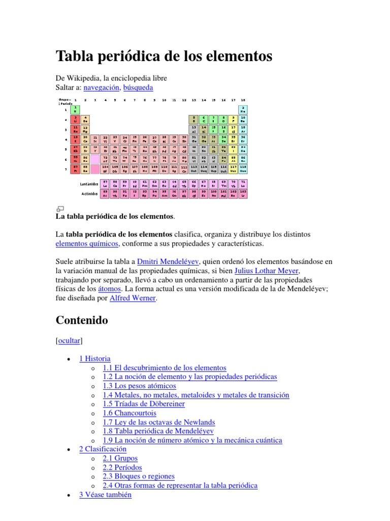 Tabla periodica definicion e historia images periodic table and tabla periodica concepto e historia choice image periodic table tabla periodica concepto e historia images periodic urtaz Gallery