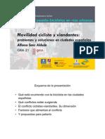 Movilidad Ciclista y Viandantes (Alfonso Sanz)