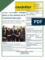 Newsletter 6 - Facultad de Educación