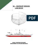 Warship Design Experiments