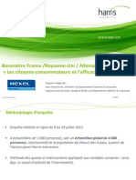 Baromètre international Rexel de l'efficacité énergétique